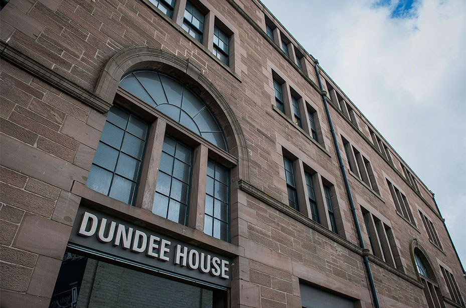 Dundee House, the interim location for Social Security Scotland