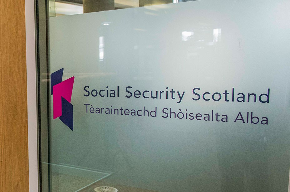 Social Security Scotland at the new Glasgow office